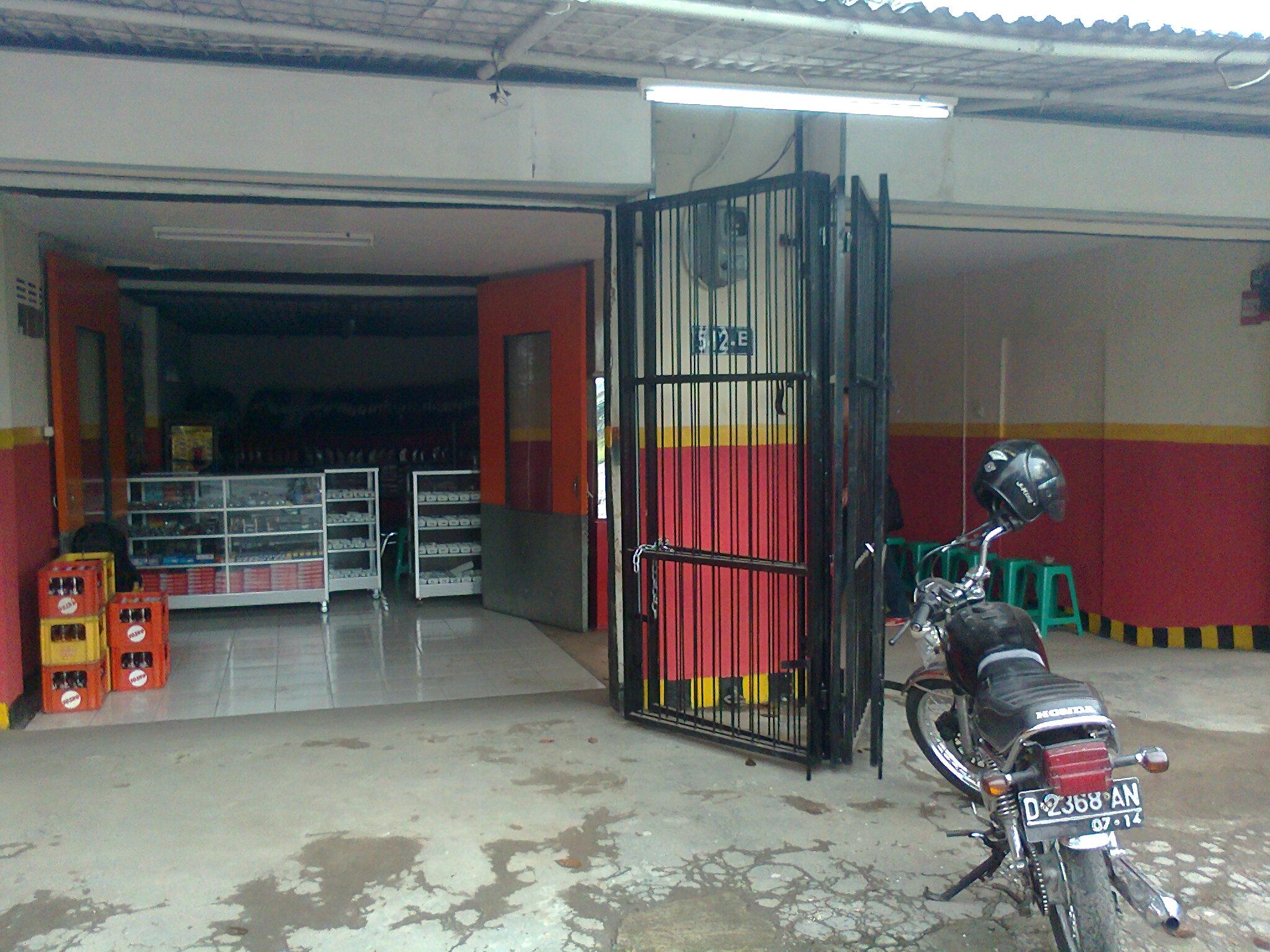 usaha bengkel motor dan toko spare part aksesoris paket Rp 60 juta
