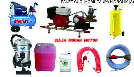 bisnis cuci mobil alat hidrolik mesin